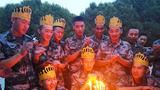 2019年8月,该团为8月份生日的官兵举行集体生日会。