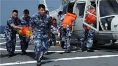 海军第33批护航编队开展多单元协同训练