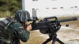 自動榴彈發射器對固定目標射擊
