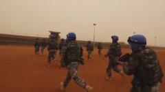 中国维和工兵分队通过联合国作战能力评估