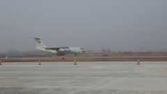 中国第五批赴南苏丹(朱巴)维和官兵回国