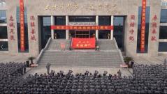 """""""特功八连""""举行仪式 纪念上甘岭战役胜利67周年"""