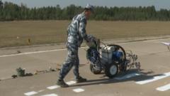 空军机场保障专业士兵进行职业技能鉴定