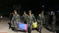 廣西靖西地震受災群眾被妥善安置