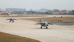 【第一軍視】演訓大片!海軍航空兵展開多兵種聯合對抗演練