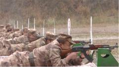 贵州省军区开展群众性练兵比武