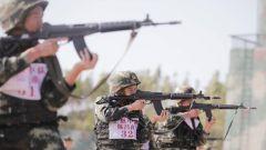 武警防城港支队:比武查短板 实战练精英