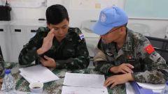 我维和直升机分队通过联非达团军事能力评估