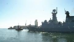 中俄南非三國海上聯演閉幕 舉行分航儀式