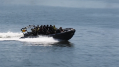 中俄南非海上聯演轉入實兵演練