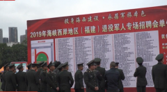 福建:關愛退役軍人 搭建就業平臺