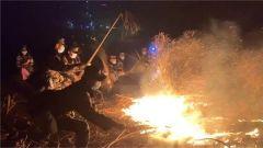 武警肇慶支隊全力馳援 廣東佛山山火已被控制