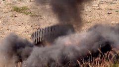 炸藥vs橡膠 來看TNT都不怕的軍用特殊防爆胎