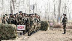 练技能 铸血性 武警宿迁支队开展手榴弹实投训练