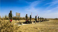 强本领 铸军魂 武警甘肃总队执勤支队开展冬季大练兵