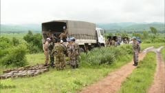 中国第23批赴刚果(金)维和工兵分队完成弹药销毁任务