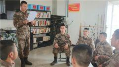 陆军第75集团军某旅大力推进十九届四中全会精神学习工作