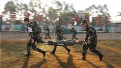 武警钦州支队:培养保障作战双过硬的卫勤尖兵