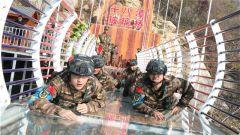 武警湖北总队:同台竞技显身手 真打实抗强本领