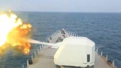 【第一军视】实弹射击霸气十足!直击南部战区海军全训考核