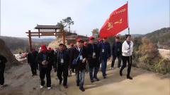 湖北武汉组织退役军人参观新农村建设