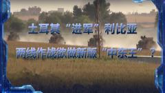 """《军事制高点》 20191221 土耳其""""进军""""利比亚 两线作战欲做新版""""中东王""""?"""
