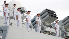 一路平安!中國海軍第34批護航編隊起航