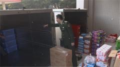 不一样的哨位:驻澳门部队安检站严格查验每一车物资