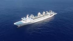 布阵大洋 三艘远望号船做好火箭发射测控准备