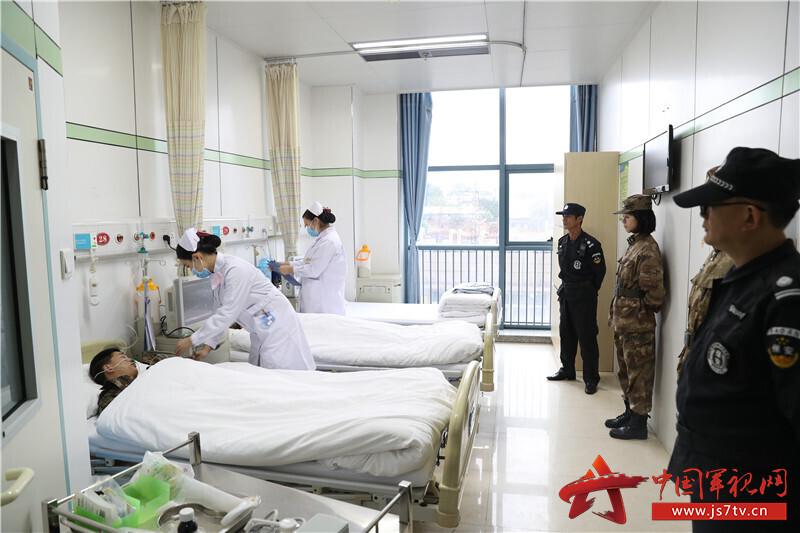 及时腾空床位给伤员