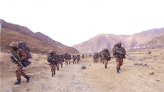 西藏:紧急战备拉动一路敌情不断 看高原官兵如何应对