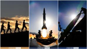 """【军视界】震撼!来看""""导弹发射先锋营""""的光与影"""