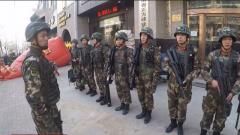 武警官兵協助處置劫持人質事件