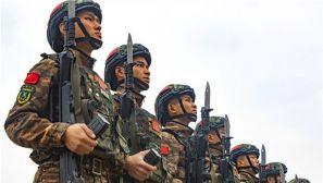 開訓即開戰 武警來賓支隊組織特戰隊員開展多科目訓練