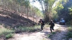 叢林搜索射擊 速度與體力的雙重考驗