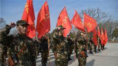 武警某部机动七支队组织官兵前往太原解放纪念馆开展红色教育