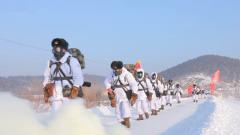 严寒考验!林海雪原国防动员力量开展拉动演练