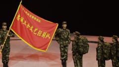 武警部队文艺轻骑队赴基层巡演