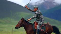 【陸軍第二屆十大標兵】尼都塔生:新型騎兵奮蹄疾馳 康巴漢子沖鋒向前