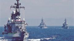 日本海上自卫队将于今日出发赴中东