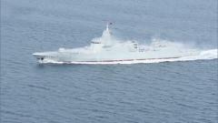 新闻链接:海军055型驱逐舰南昌舰入列