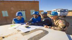 蘇丹達爾富爾:維和工兵分隊順利完成新年度首次施工勘察任務
