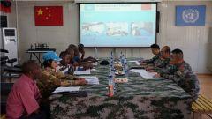 中國第二十三批赴剛果(金)維和醫療分隊順利通過聯剛團戰備核查