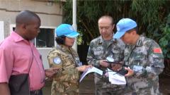 刚果(金):中国维和医疗分队顺利通过联刚团战备核查