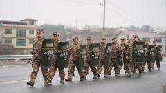 邵陽軍分區組織2020年度首次拉動演練