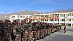 西藏军区某工化旅掀起新年度练兵热潮
