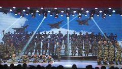 """空军勤务学院举办""""迎新春""""文艺晚会"""
