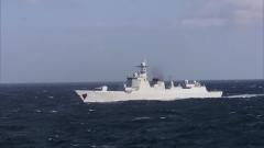 海軍兩批護航編隊在亞丁灣海域順利會合