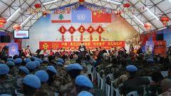 """""""同慶春節 共衛和平""""音樂會在中國赴黎巴嫩維和部隊舉辦"""
