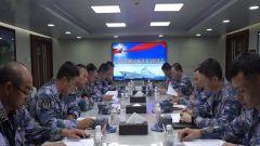 海軍第三十四批和第三十三批護航編隊完成任務交接并舉行分航儀式